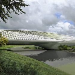 concrete skin | Zaragoza Bridge Pavillon | Facade systems | Rieder