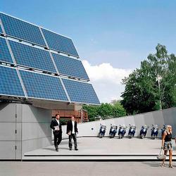 Solar Filling Station | Facade systems | Rieder