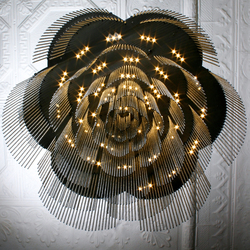 Rose - 700 - suspended | option straight/looped | Objetos luminosos | Willowlamp