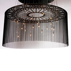 Custum Ngoma Chandelier | Lampadari a corona | Willowlamp