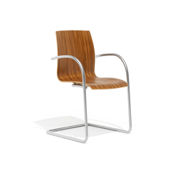 1170/3 Trio | Visitors chairs / Side chairs | Kusch+Co