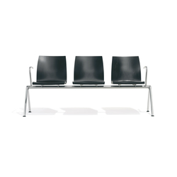 1102/5 Trio | Beam / traverse seating | Kusch+Co