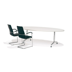 8474/6 Ona desk + 8538/4 Ona plaza | Tavoli | Kusch+Co