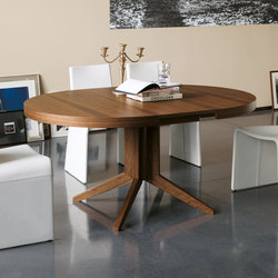 Bryant tavolo tondo allungabile | Mesas para restaurantes | Porada