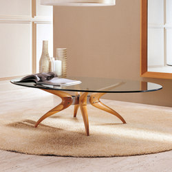 Denuo tondo ovale | Coffee tables | Porada