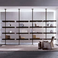 Domino expo Bookcase | Shelves | Porada