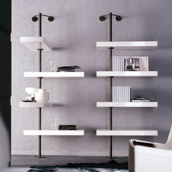 Domino expo Bookcase | Shelving | Porada