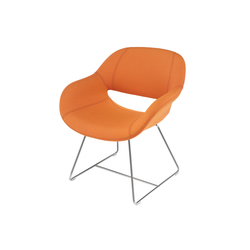 8230/3 Volpe | Fauteuils d'attente | Kusch+Co