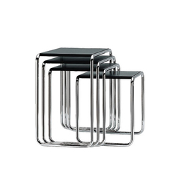 B 9 a-d | Nesting tables | Thonet