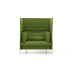 Alcove Highback Love Seat