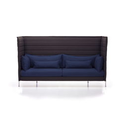Alcove Highback Three-Seater | Lounge sofas | Vitra
