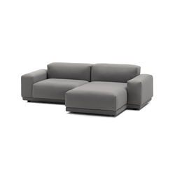 Place Sofa 2-seater chaise longue configuration | Sofas | Vitra