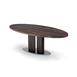 hochwertige esstische mit tischplatte oval auf architonic. Black Bedroom Furniture Sets. Home Design Ideas