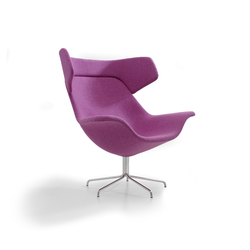 Oyster easy chair | Armchairs | OFFECCT