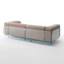 Crystal Lounge | Lounge sofas | Glas Italia