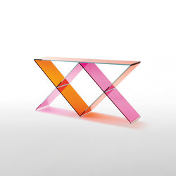 XX | Tables consoles | Glas Italia