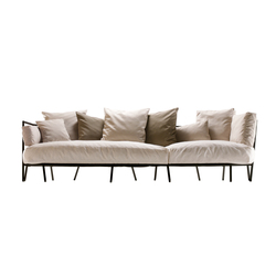 dehors outdoor 3-seater sofa 372 | Sofas de jardin | Alias