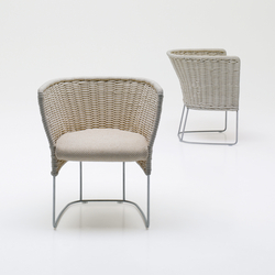Ami | Garden chairs | Paola Lenti