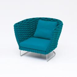 Ami | Garden armchairs | Paola Lenti