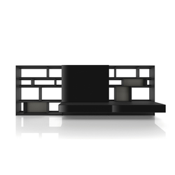 Flat.C | Wall storage systems | B&B Italia