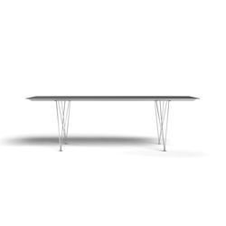 Table B - Steel | Dining tables | BD Barcelona