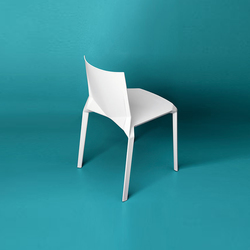 Plana Stuhl | Visitors chairs / Side chairs | Kristalia