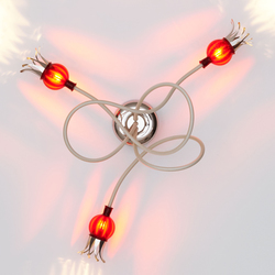 Poppy Ceiling with 3 arms | Illuminazione generale | serien.lighting