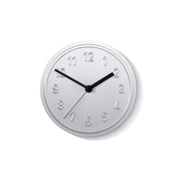 Alu Alu Wanduhr | Clocks | Lampert