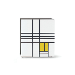 Homage to Mondrian 1 | Sideboards | Cappellini