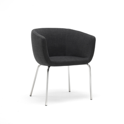 Nut | Visitors chairs / Side chairs | Living Divani
