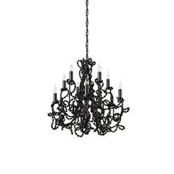 Coco chandelier round | Deckenlüster | Brand van Egmond