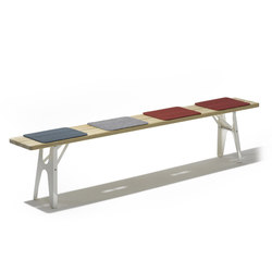 Ludwig bench | Garden benches | Lampert