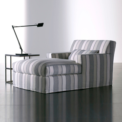 James Slim Relax Chair | Chaise longue | Meridiani