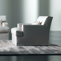 James Slim Armchair | Armchairs | Meridiani