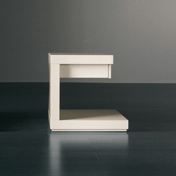 Cluny Night table with drawer | Night stands | Meridiani