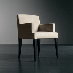Cruz Tre Chair | Visitors chairs / Side chairs | Meridiani