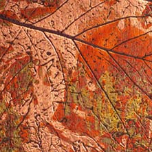 622G Copper Autumn Leaves | Lastre in materiale composito | Homapal