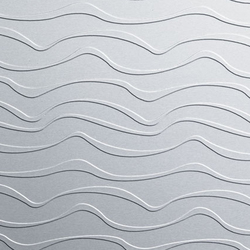 820/924 Alu Matt La Ola horizontal | Lastre in materiale composito | Homapal