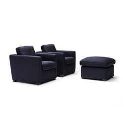 Easy Living armchair/footstool | Poltrone lounge | Linteloo