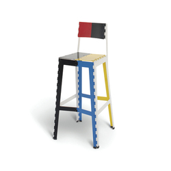 Stitch Stool | STC/2 | Bar stools | Cappellini