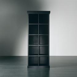 Gary Bookcase Uno | Shelving systems | Meridiani