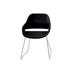 Eva | 2268 | Visitors chairs / Side chairs | Zanotta