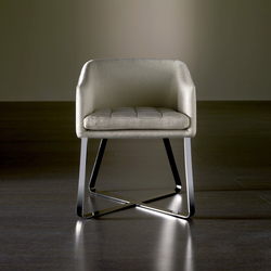 Lolyta Chair | Visitors chairs / Side chairs | Meridiani