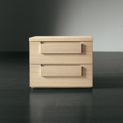 Note night table with drawers 56-C | Mesillas de noche | Meridiani