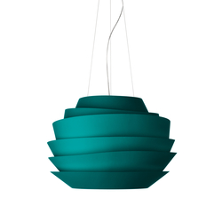 Le Soleil suspension aquamarine | Suspended lights | Foscarini