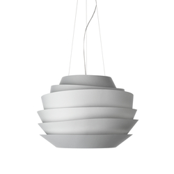 Le Soleil suspension white | General lighting | Foscarini