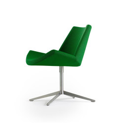 Lotus Swivel Chair | Sedie visitatori | +Halle