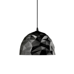 Rock suspension black | General lighting | Diesel by Foscarini