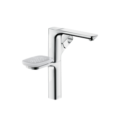 AXOR Urquiola Single Lever Basin Mixer DN15 with holder for wash bowls without pull rod | Wash-basin taps | AXOR