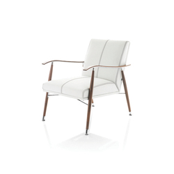 Sahara Wood Easy Chair | Loungesessel | Lammhults